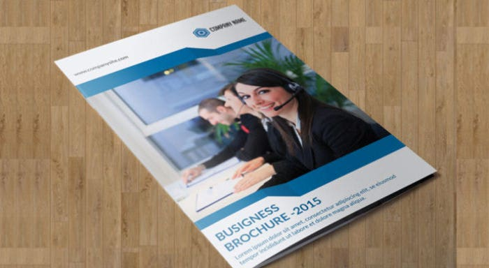 Corporate brochure - Bifold