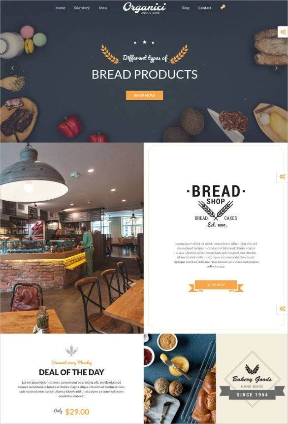 creative cakes bakery woocommerce theme1