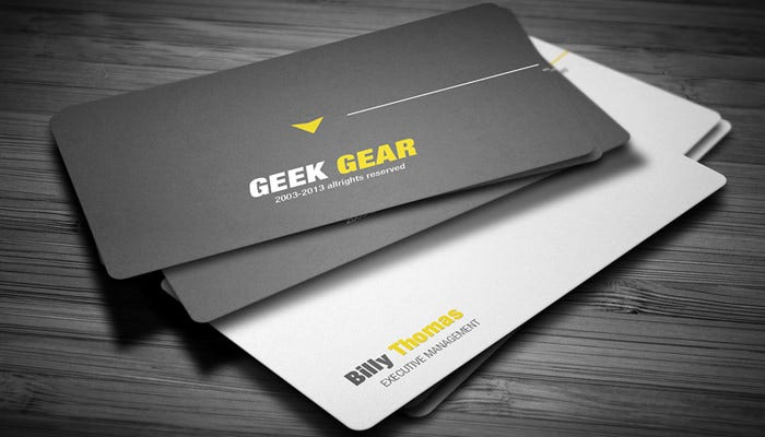 Creative Line Business Card
