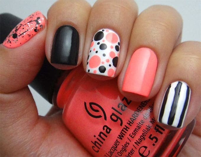 creative nail art design