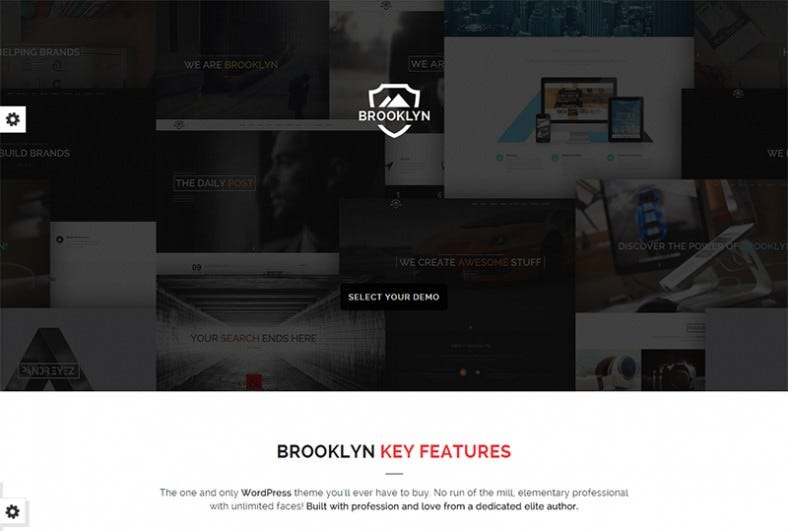 creative one page multi purpose theme 788x531