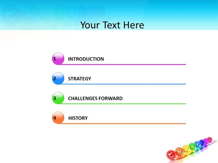 creative powerpoint template 2