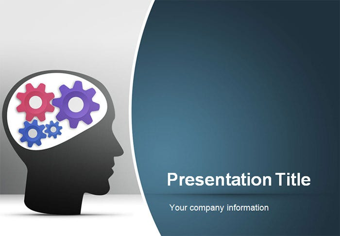 Creative Powerpoint Template   Free Ppt Pptx Potx Documents
