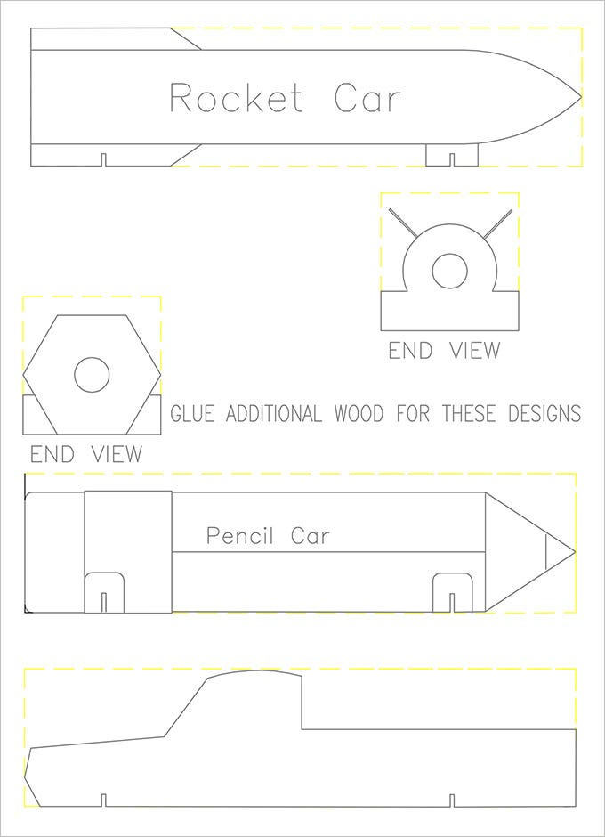 rocket pinewood derby template free derby car templates