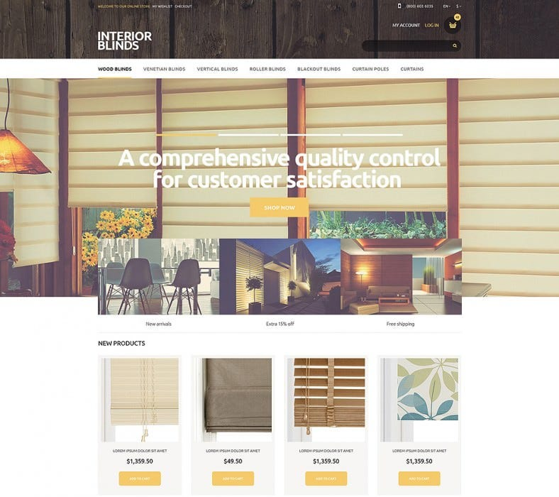 Design Store Magento Template