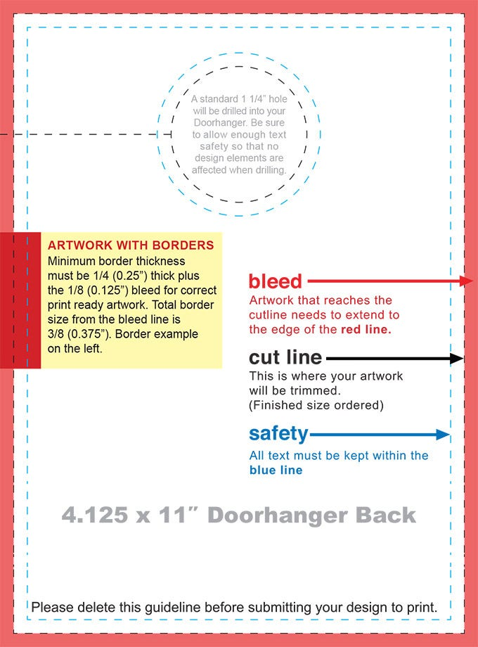 doorhanger layout template025