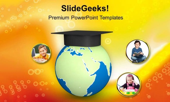 download education powerpoint template