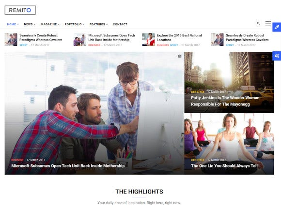 drag and drop news drupal