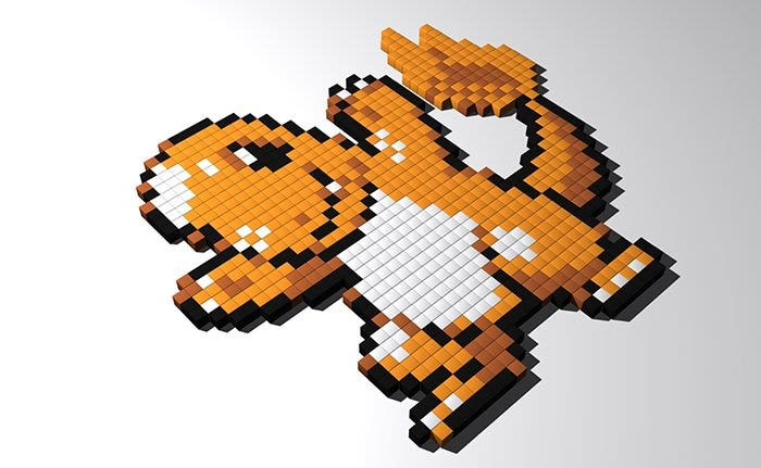 dragon minecraft pixel art templates1