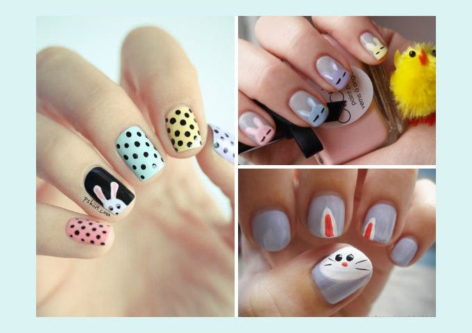 easter nail art design idea