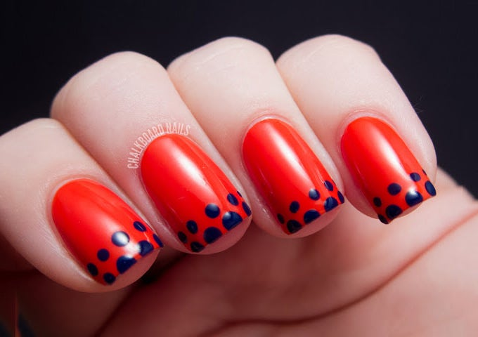 easy nail art design idea