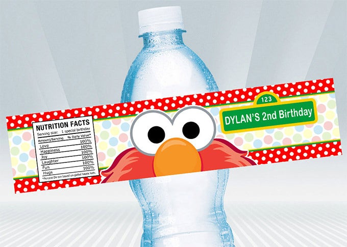 Baseball party water bottle labels | birthday party.