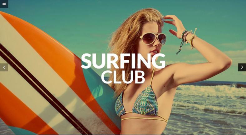 Extreme Sports Club WordPress Theme