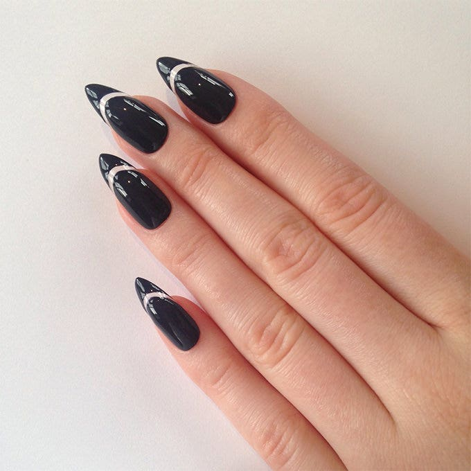 fake nail design idea