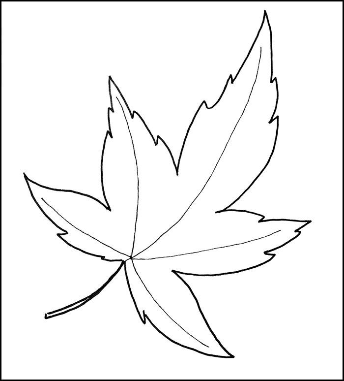 fall leaf pattern printables100 - Leaf Templates