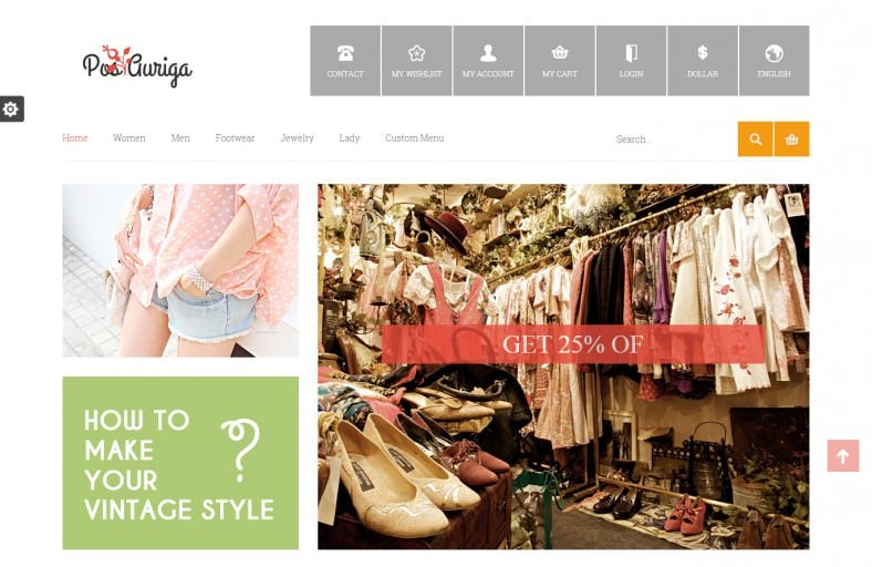 Fashion Design Prestashop Template