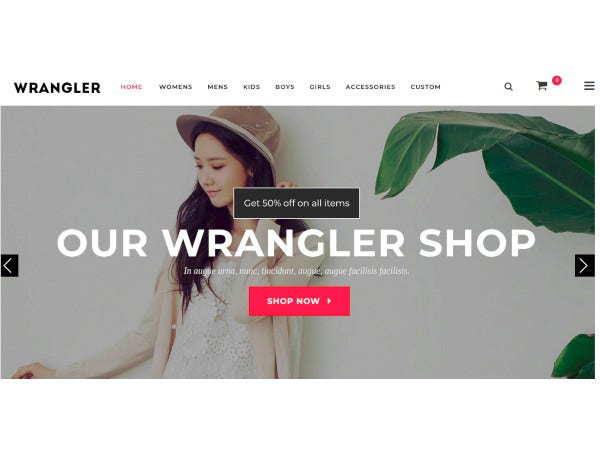 fashion store responsive magento theme1