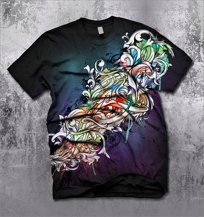 fashion t shirt design
