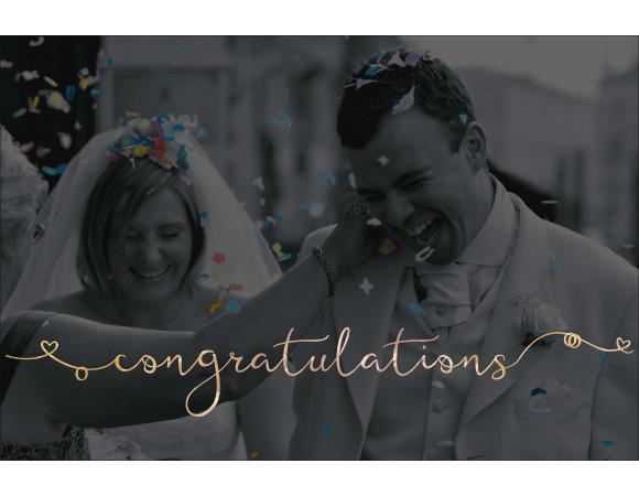 featherly bold wedding font