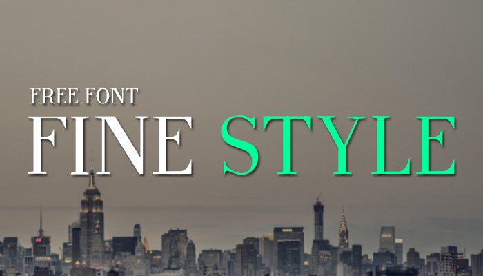 fine style