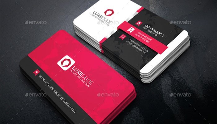 28 personal business cards free premium templates flat business card template wajeb Choice Image