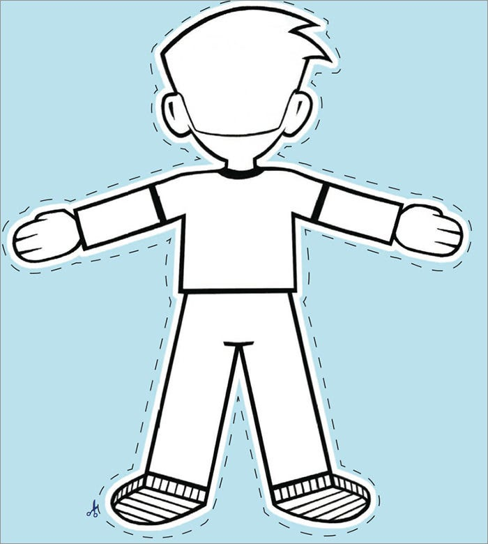 20  Free Flat Stanley Templates   Colouring Pages to Print Free BgG90bTX