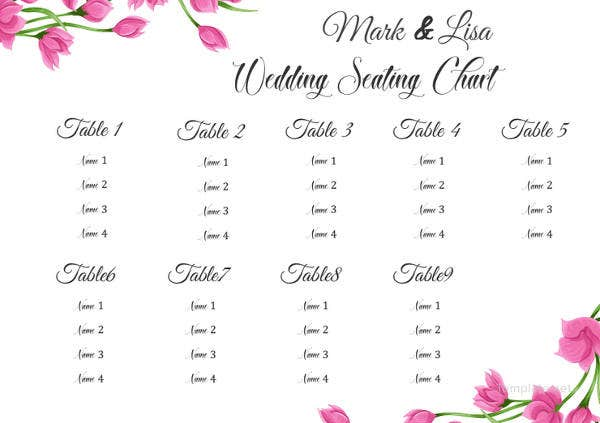 floral-wedding-seating-chart-template
