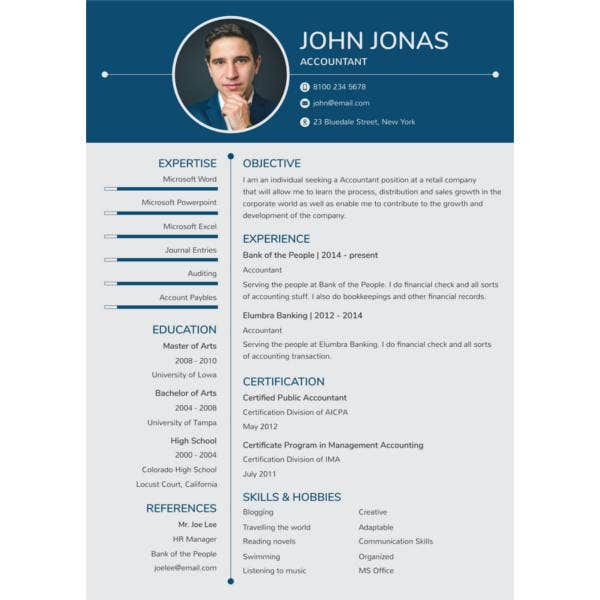 free-banking-resume-for-freshers-template