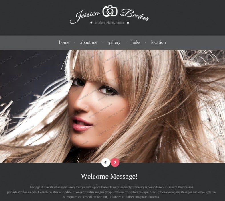 Free Bootstrap HTML Template