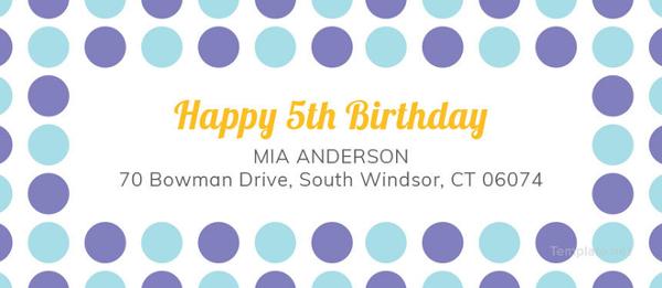 free-editable-birthday-address-label-template