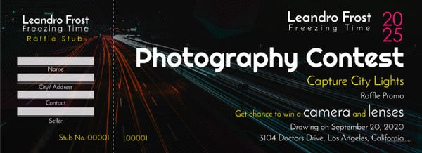 free-photography-raffle-ticket-template