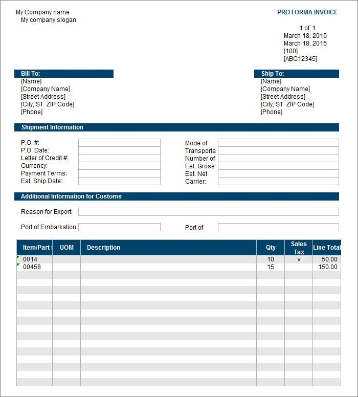 Free Invoice Template Invoice Templates Free Premium Templates - Invoice template html
