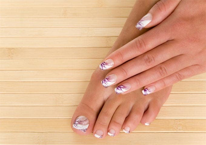 french nail design idea
