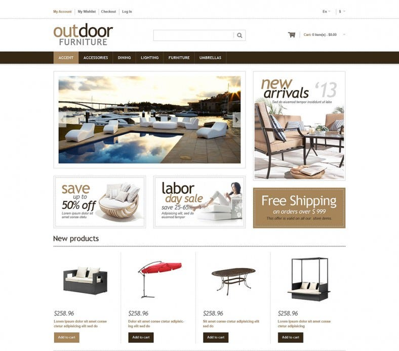fully responsive furniture designs magento theme 788x694