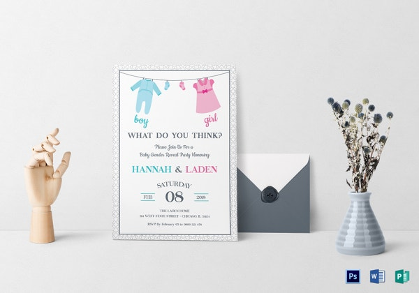 Baby Shower Invitation Template 29 Free Psd Vector Eps Ai