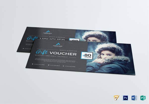 gift coupon voucher template