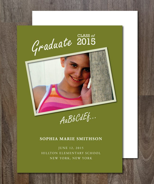 graduation announcement 3