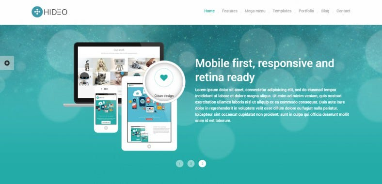 HTML5 Bootstrap Website Template