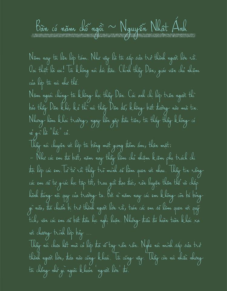 haikus script font handwriting