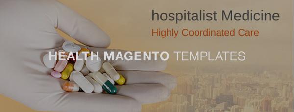 Health Magento Templates