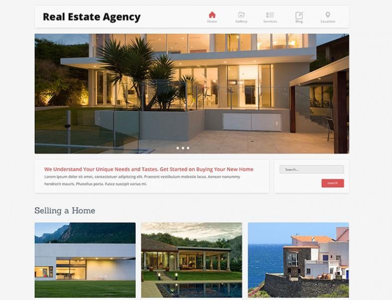 home bureau joomla template 788x602