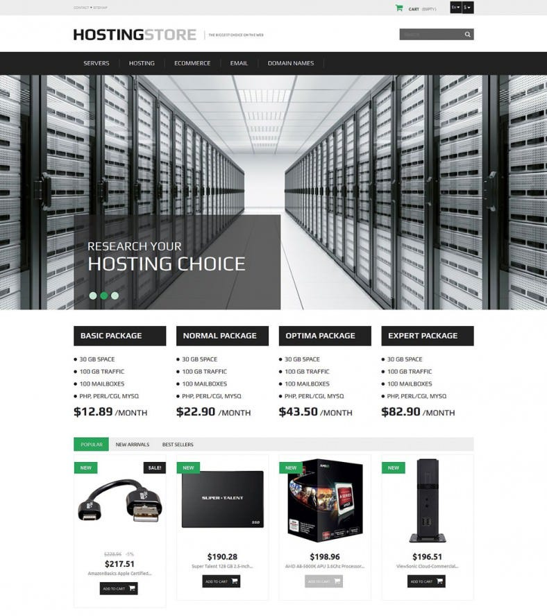 hosting prestashop theme 788x888