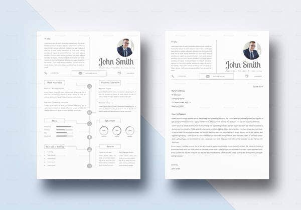 infographic-bpo-resume-template