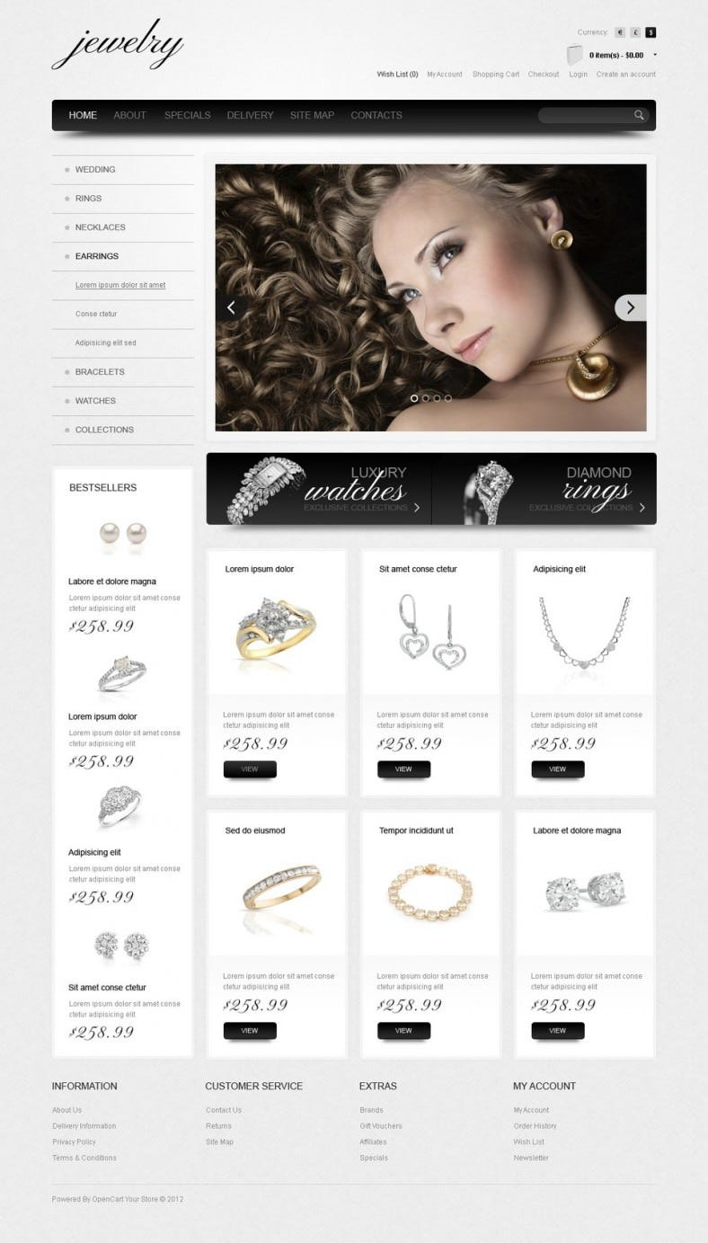 jewelry watches opencart template1 788x1383
