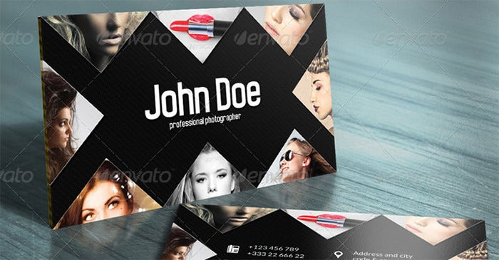 John Doe Creative Business Card 3