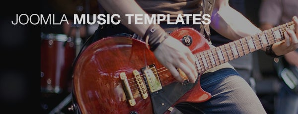 joomla music templates