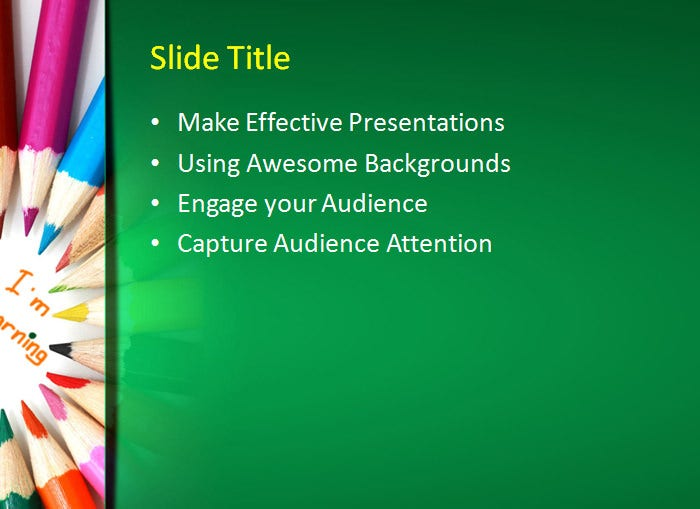 20 sample education powerpoint templates free premium templates kids learning education powerpoint template toneelgroepblik Images