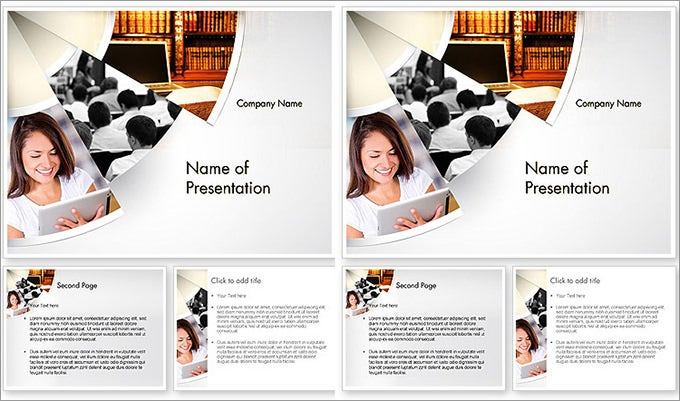 law education powerpoint template