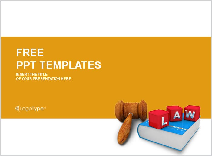 lawyer job ppt templates