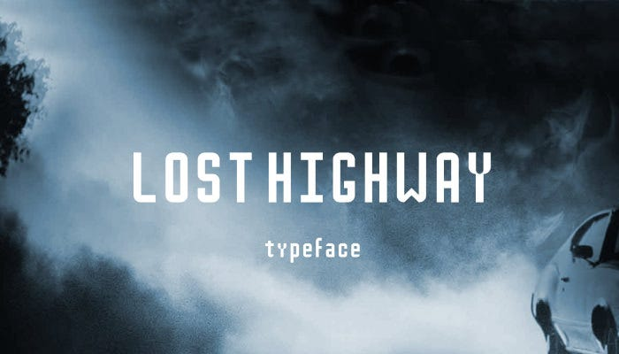 As The Name Suggests Background Is All Smoky And It Shows A Single Lost Car On Road Typeface Has Been Inspired From Movie Posters That